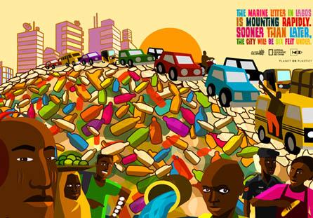 迪拜国家地理平面广告设计