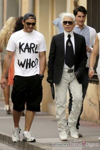 年老的Karl已经到达了感性的极致