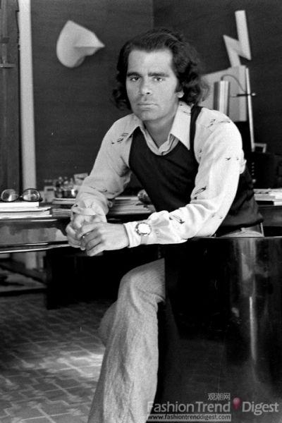 1970年Karl看起来并没有什么特别之处