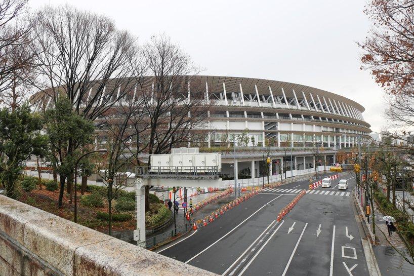 隈研吾<a href=http://www.ccdol.com/ target=_blank class=infotextkey>设计</a>的东京奥运会主场馆
