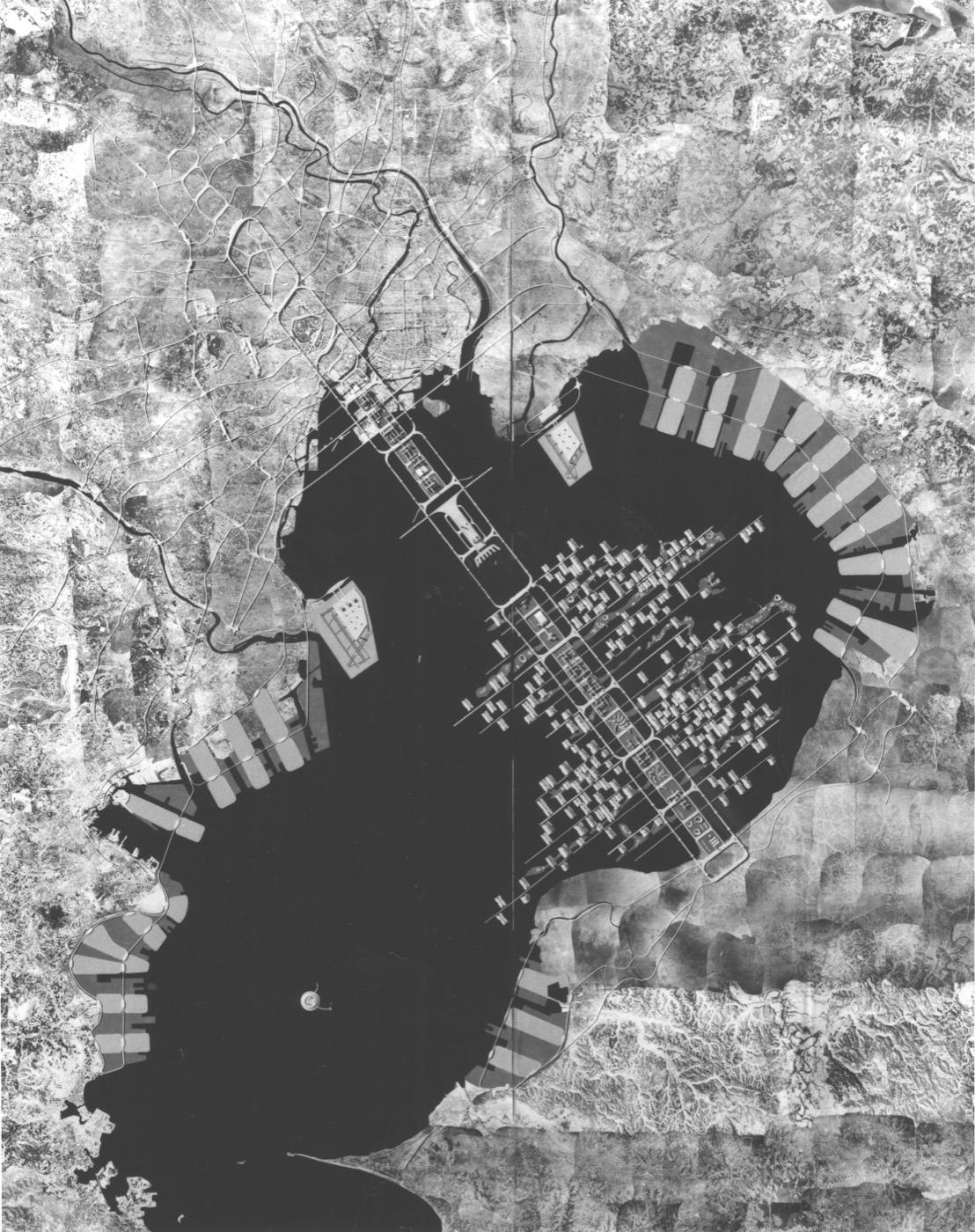 """丹下健三的""""东京1960计划"""""""