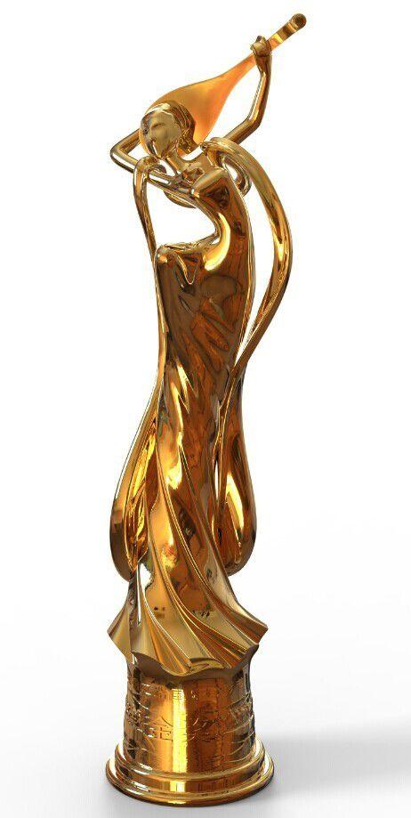 首届丝绸之路世界杯体育投注平台电影节奖杯