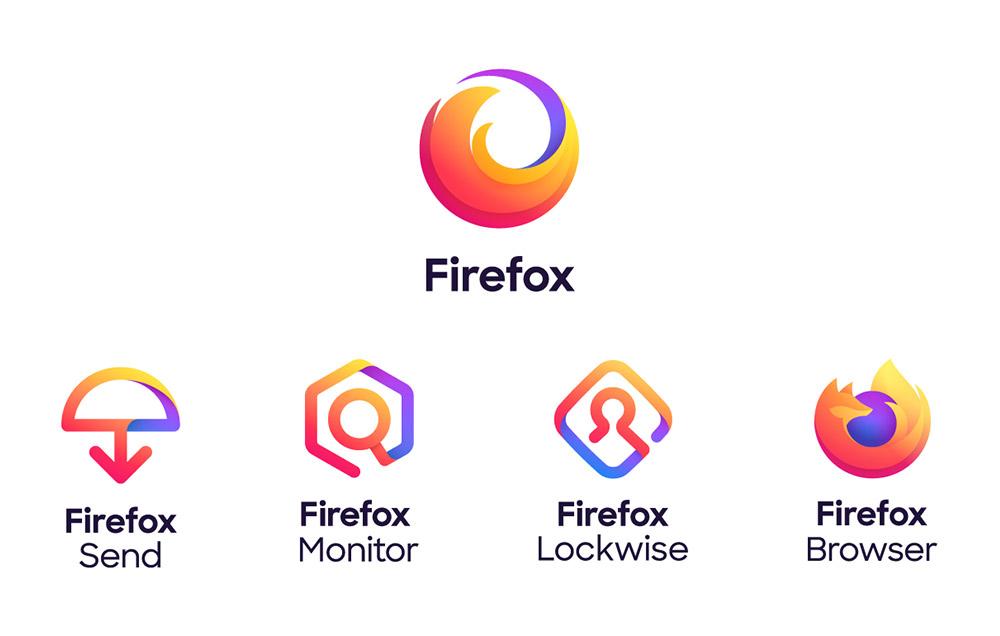 Mozilla正式发布Firefox品牌新<a href=http://www.ccdol.com/sheji/biaozhi/ target=_blank class=infotextkey>logo</a>,未来将推出更多产品