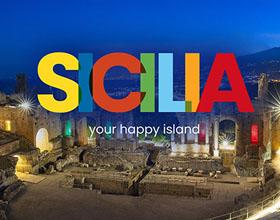 意大利西西里岛(Sicilia)推全新旅游品牌LOGO