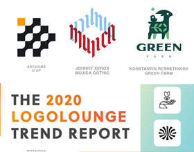 2020年LOGO设计趋势报告-15种流行和受欢迎的LOGO设计表现形式