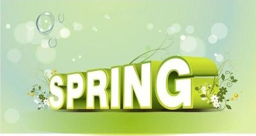 使用CDR制作漂亮的绿色立体春天英文字体
