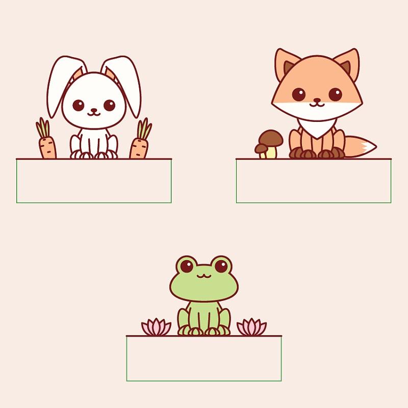 用illustrator绘制可爱的小动物(3)-中国设计在线