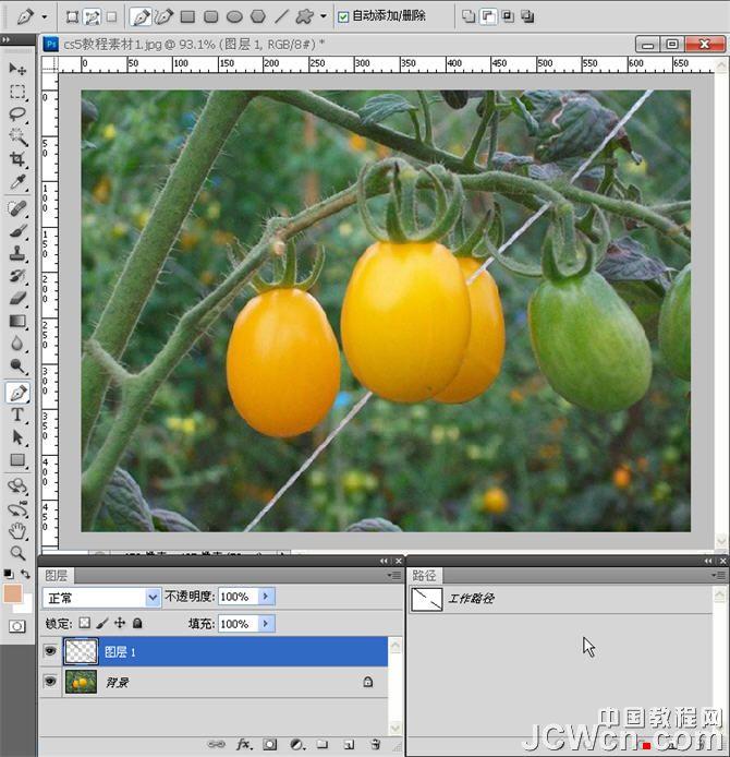 Photoshop CS5新功能教程:描边路径之污点修复画笔的运用_中国教程网