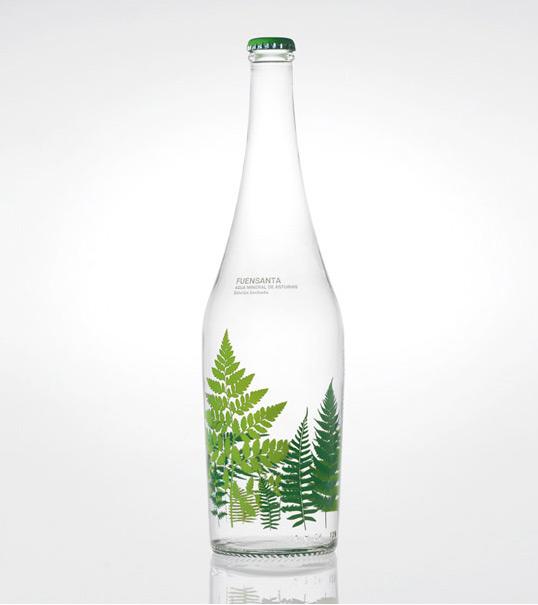 漂亮的瓶子包装设计