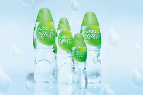 屈臣氏饮用水新包装与东亚会纪念版包装设计