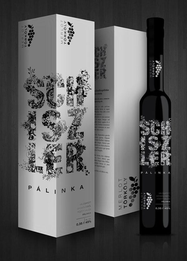 匈牙利Schiszler Silver 饮料包装设计