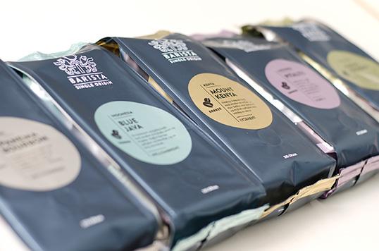 七套漂亮的小食品包装设计