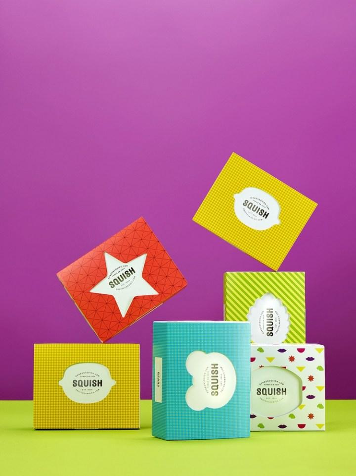 Squish Candies糖果品牌包装设计