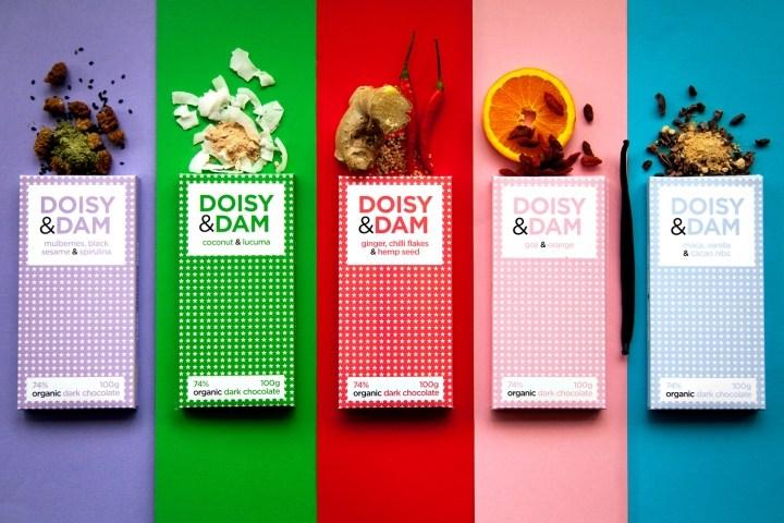 Doisy & Dam巧克力品牌包装设计