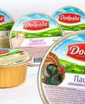 白俄罗斯DOBRADA农场肉类与果蔬系列罐头包装设计