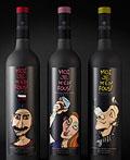 调皮的Moi Je M' En Fous葡萄酒系列包装设计