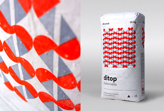 Ditop经典水泥包装袋设计