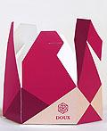 虚构的DOUX美味甜甜圈包装设计
