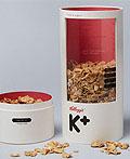 凯洛格的特别K麦片包装