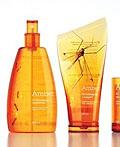 俄罗斯Amber琥珀驱蚊产品包装设计
