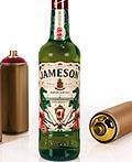 2016詹姆森圣帕特里克节限量版瓶包装设计