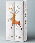 Coco伏特加酒品牌包装设计