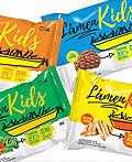 巴西LAMEN KIDS零食包装设计