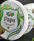 俄罗斯Papa & Mamma Cheesano奶酪包装设计