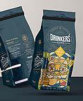 漂亮的Drinkers咖啡包装设计