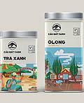越南Cau Dat Farm茶包装设计