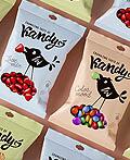 俄罗斯Birdie Kandy糖果包装设计