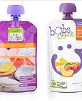 Bubs Organic婴儿食品包装设计