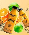 DETOX饮料包装设计和品牌视觉设计