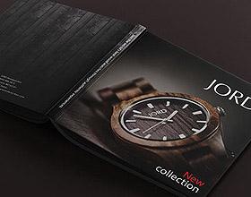 阿塞拜疆JORD腕表目录画册设计欣赏