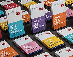 挪威PASH巧克力包装设计
