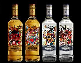精致的Jose Cuervo龙舌兰酒限量版包装设计