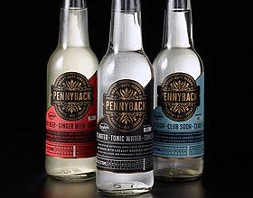 Pennyback酒标签包装设计欣赏