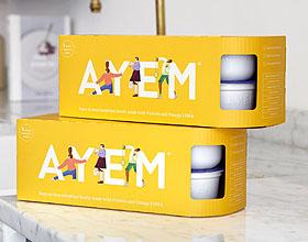 AYEM营养早餐品牌包装设计欣赏
