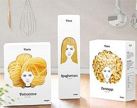 Pasta意大利面包装设计欣赏