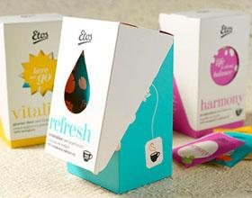 ETOS茶包装设计欣赏