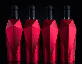 宛若红宝石的Rubin葡萄酒包装设计