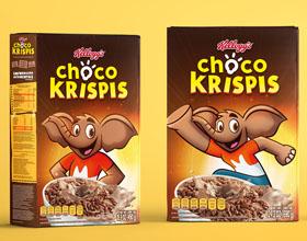 墨西哥Choco Krispis包装设计