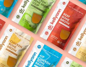 自然疗法营养师Kellyann博士品牌包装设计
