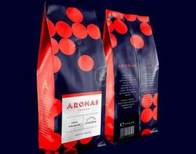 Aromas咖啡品牌包装设计