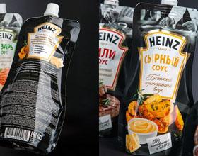 俄罗斯HEINZ酱汁包装设计