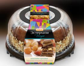 俄罗斯ЛИМАК蛋糕包装设计