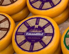 获奖的俄罗斯Emandhof奶酪包装设计