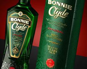 Bonnie and Clyde苏格兰威士忌包装设计