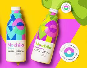 巴西Mochila酸奶包装设计
