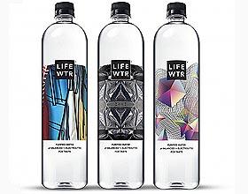 LIFEWTR瓶装水品牌包装设计